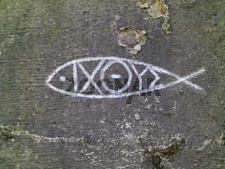 Christensymbol Fisch