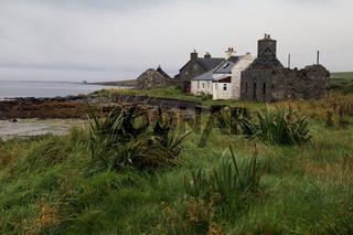 Coastal scenery on Unst Island, Shetland, Scotland