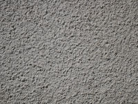Exterior plaster wall surface