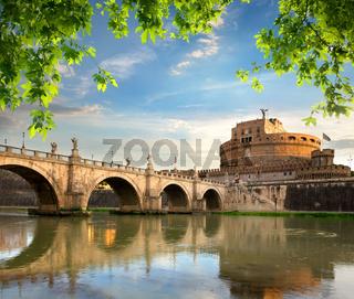 Castle and bridge of Angels