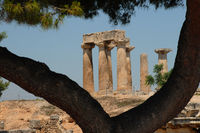 Korinth, apollotempel