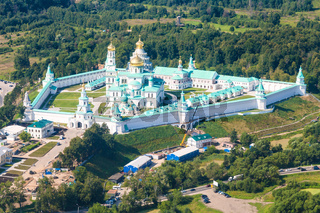 view of New Jerusalem Monastery near Istra town