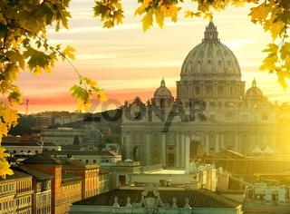 Vatican in autumn