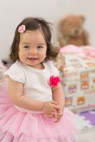 Cute baby girl 1 year