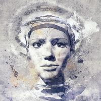 digital beauty, 3d illustration