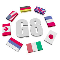 Group of Eight Flags