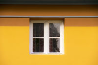 Window in the yellow house