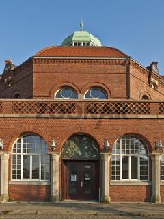 Kuppelsaal des Hafenbahnhofs in Cuxhaven