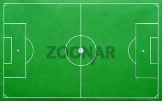 Fußballplatz grün