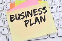 Business Plan Businessplan Analyse Strategie Erfolg Firma Unternehmen Konzept Notizzettel