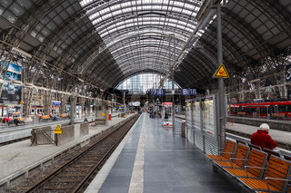 Frankfurt am Main, Hauptbahnhof. 28.09.2017.