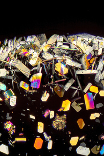 colorful microcrystals