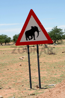 Schilder in Namibia. 001
