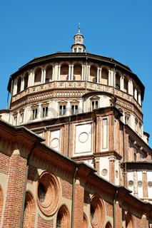 Santa Maria delle Grazie church in Milan