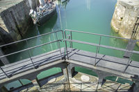 Gate of canal lock system