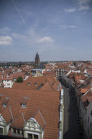 View from town hall over Gotha wieth St. Margarethen