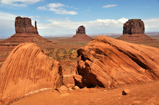 Mittens in Monument Valley