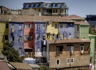 Valparaiso typical buildings