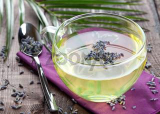 Lavendelbluetentee
