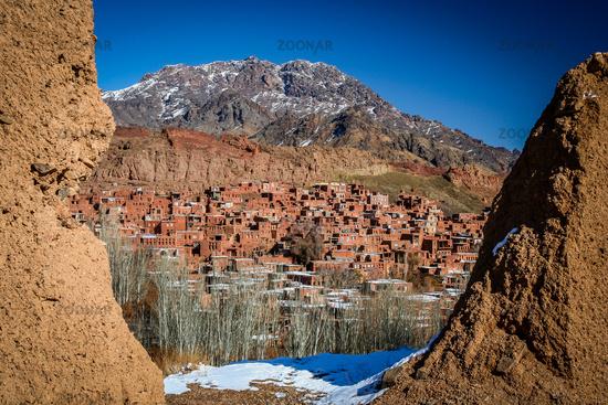 Mountain village Abyaneh
