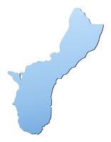 Guam map