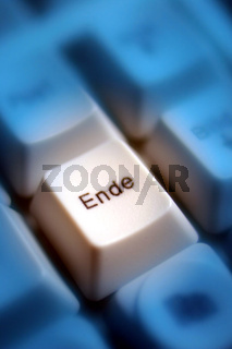 Computertaste Ende / computer key end