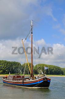 Aalschokker am Niederrhein