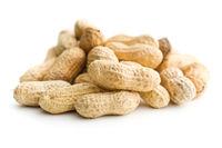 The unpeeled peanuts.