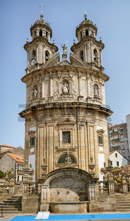 Capela da Virxe Peregrina, Pontevedra, Camino de Santiago, Spanien