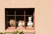 Canyon Road Window in Santa Fe, New Mexico
