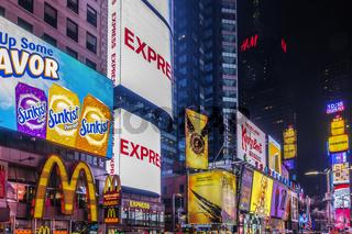 Time Square, Manhatten, New York, USA