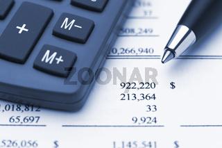 bule macro of calculator