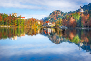 District of Hohenschwangau and its castles