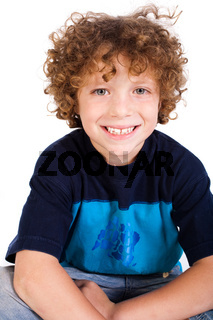 Close-up of adorable young kid