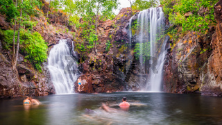 Florence Falls in Litchfield National Park
