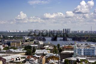 Stadtansicht von Kiew, Ukraine