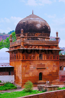 Mosque constructed by Tipu Sultan near Badami caves, Badami, Bagalkot, Karnataka