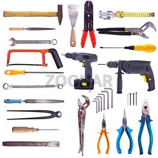 Werkzeug - freigestellt