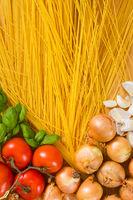 Italian pasta - spaghetti