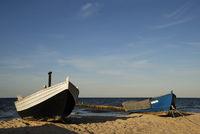 Fischerboote am Meer
