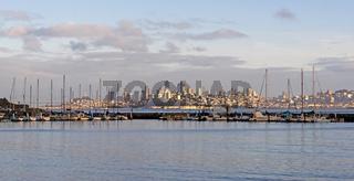Horseshoe Bay San Franciso Skyline Downtown Fisherman's Wharf