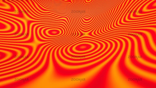 psychedelic background orange red 01