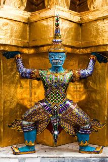 Goldener Karyatide