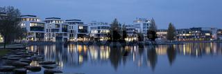 Blaue Stunde am Phoenix-See Dortmund