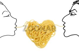 Pasta love (Valentine`s day theme)