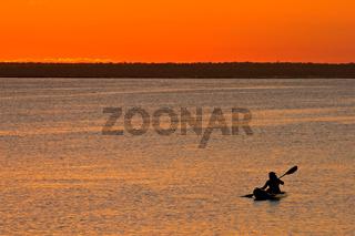 Mozambican sunset