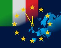 EU and flag of Italy - five minutes to twelve.jpg