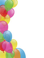 Invitation - balloons