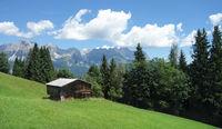 mountain scenery in Wilden Kaiser