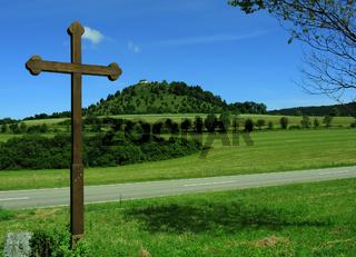 Wegkreuz beim Kornbühl auf der Schwäbischen Alb